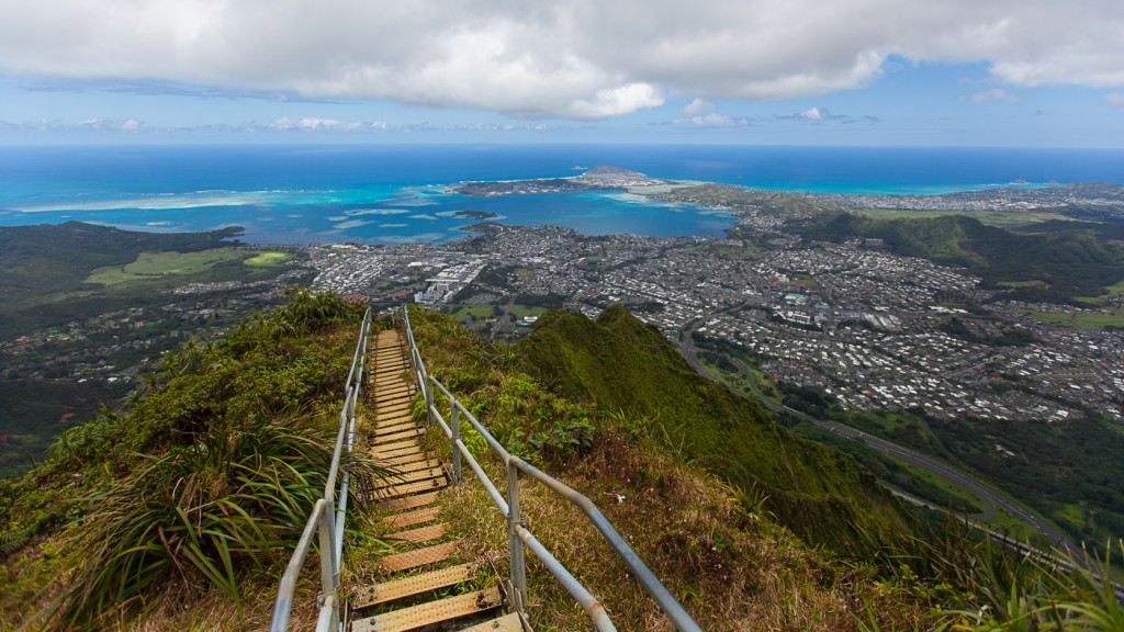 Oahu's Haiku Stairs