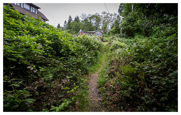 Astoria, Oregon's The Goonies Trails, a network of footpaths around the town.