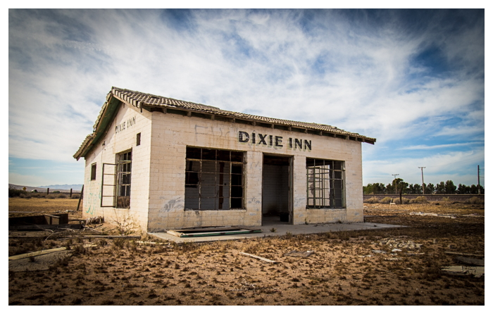 Dixie Inn near Hinkley, California