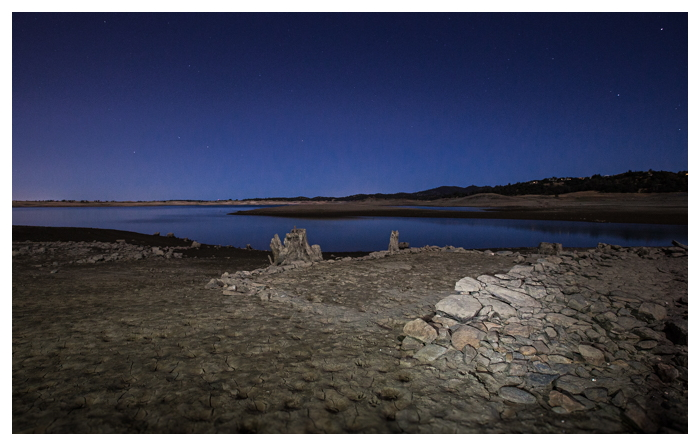 Mormon Island, Folsom Lake, California