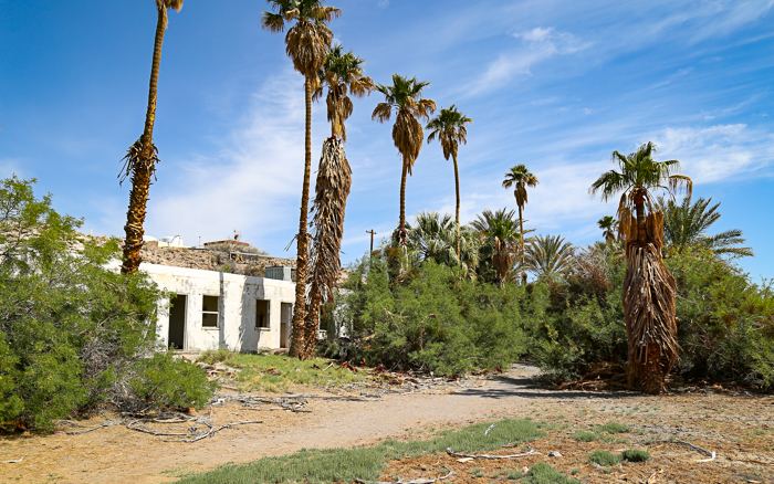 ZZyzx Mineral and Hot Springs, an abandoned travel destination in California's Mojave Desert.