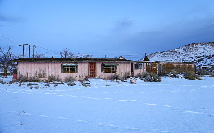 Nevada's abandoned brothel, Bobbie's Buckeye Bar.