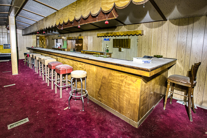 abandoned Nevada brothel, Bobbie's Buckeye Bar in Nye County.