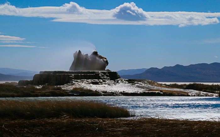 fly geyser picture, black rock desert, nevada
