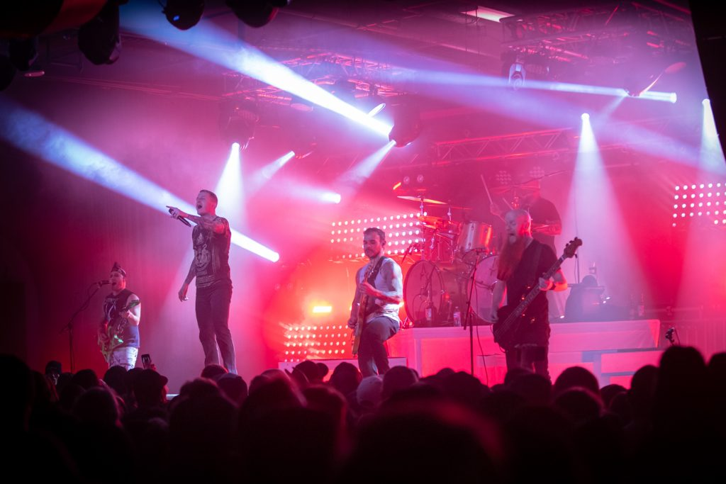 Atreyu perform live in Reno, Nevada