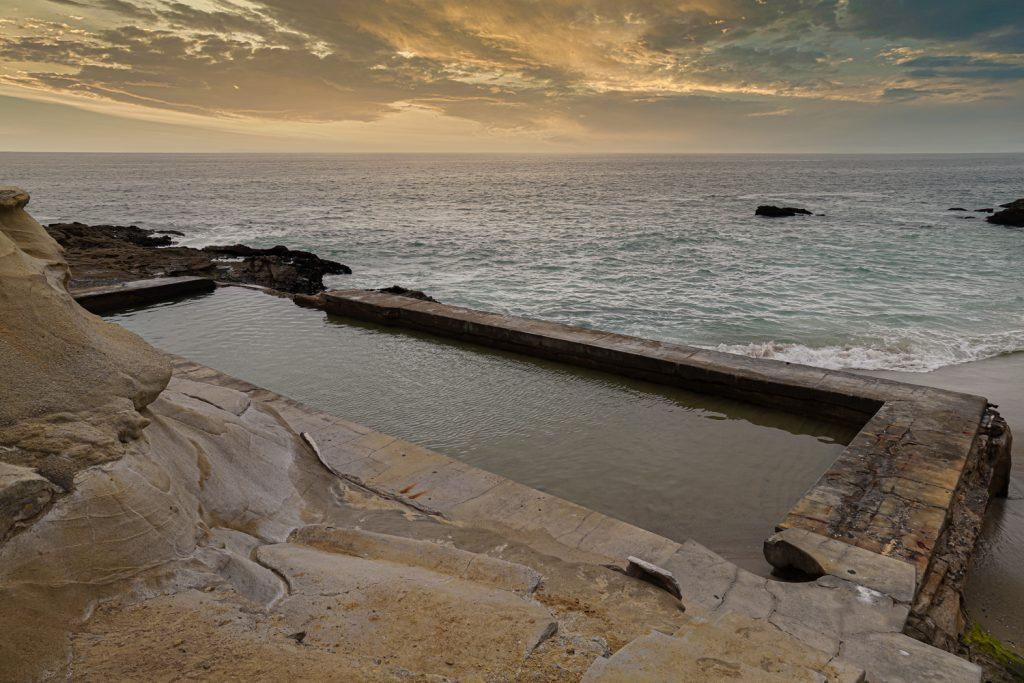 Laguna Beach Hidden Ocean Beach Swimming Pools