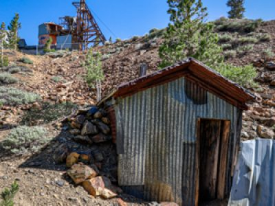 Log Cabin Gold Mine site