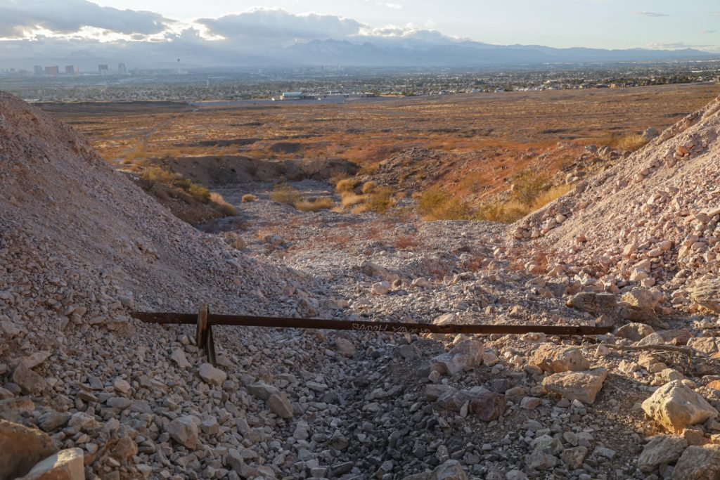 Frenchman Mine - abandoned mine, las vegas
