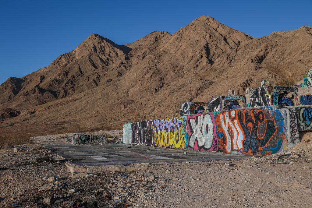 Frenchman Mine Ruins - Las Vegas