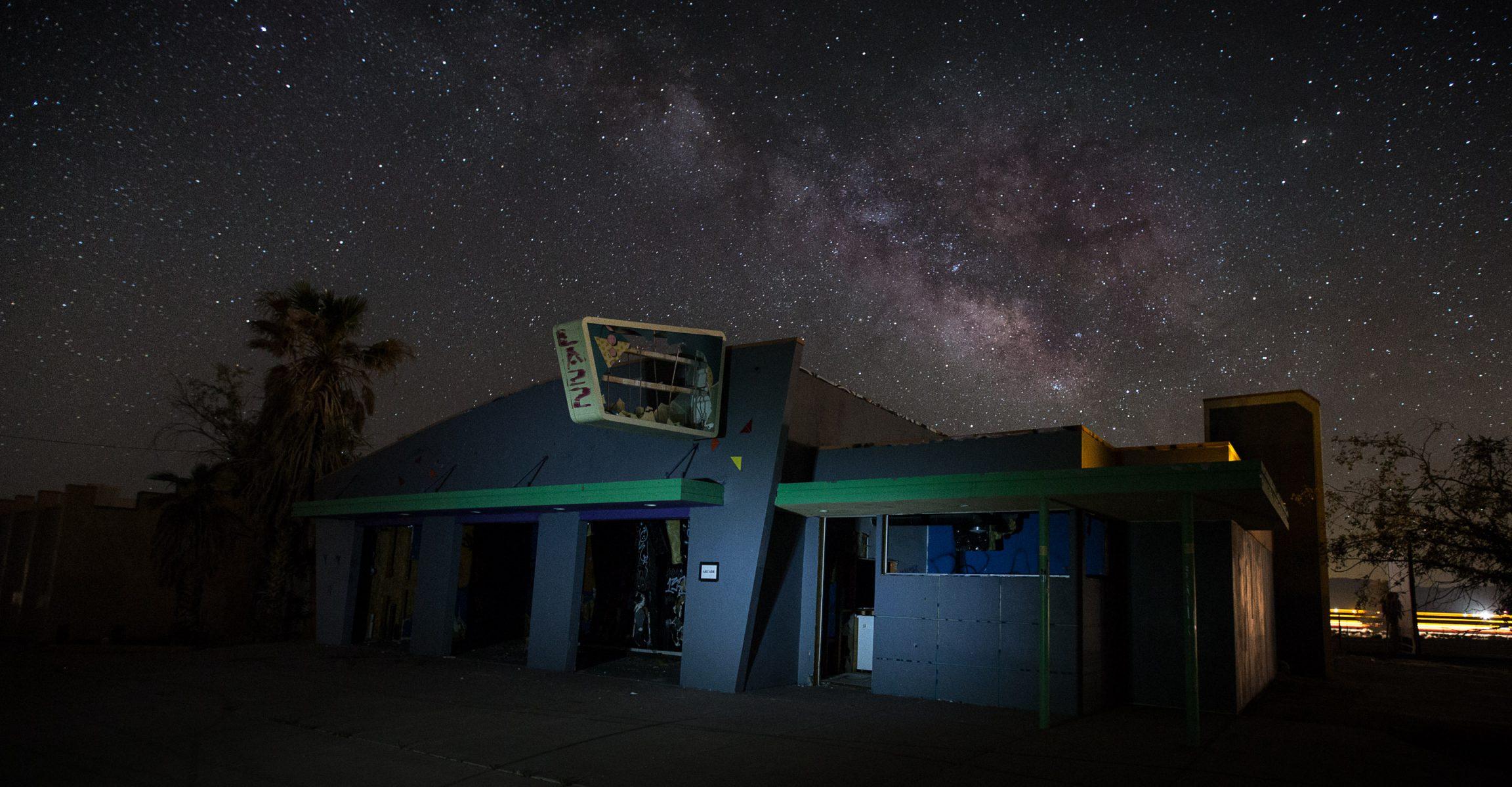 rock a hole waterpark, abandoned, barstow, california, i-15